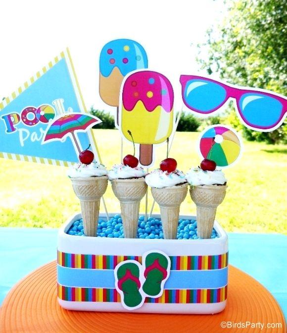 Mejores 29 im genes de pool party en pinterest fiestas for Ideas para cumpleanos en piscina