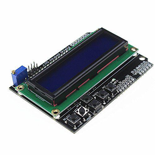 #robotics Product Description : Brand new and high quality. This is a basic 16 character by 2 line #black-on-green display. Utilizes the extremely common HD44780...