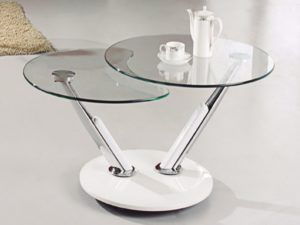 Living Rooms Round Glass Coffee Table Incredible Room Design Online