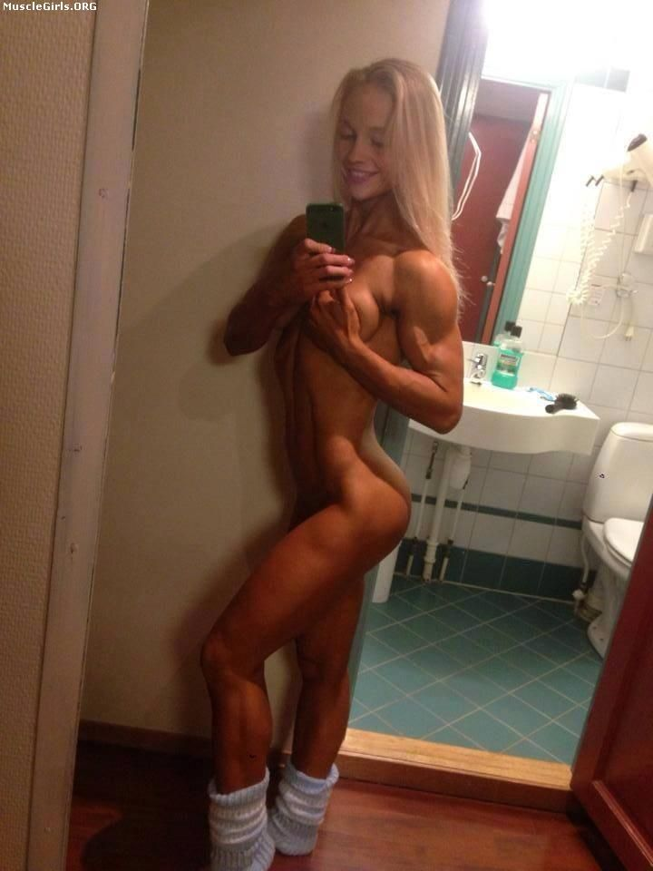 Women muscle nude female selfies consider, that