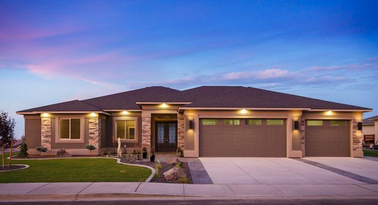 Beethoven Prodigy Homes Inc Single Storey House Plans House Outside Design Prairie Style Houses