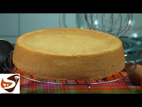 Pan di spagna alto: la ricetta classica, soffice e senza lievito - dolci (How To Make Sponge Cake) - YouTube