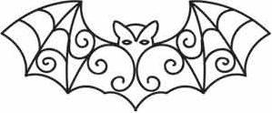 Gothic Lace Bat_image