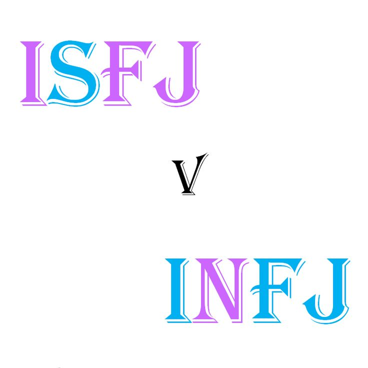 This chart compares two soft-spoken and caring types. ISFJ (SiFe) INFJ (NiFe) They value a concrete se...