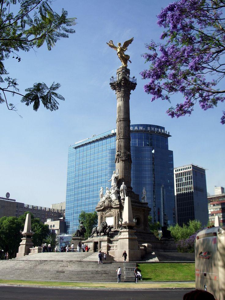 centre ville de Mexico, quartier des affaires.