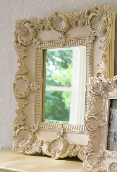 love old framed mirrors