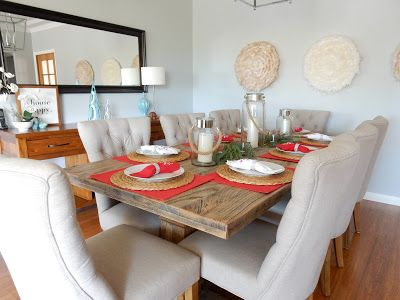 Alicia On A Sunny Day: Christmas Tablescape