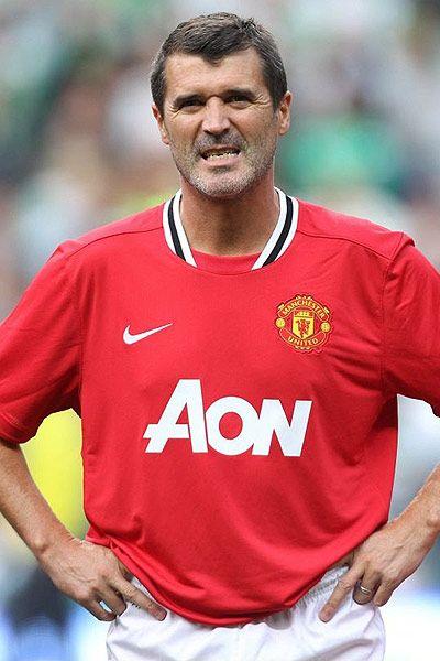 Roy Keane - Manchester United FC and Ireland.