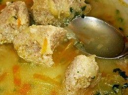 Kalerábová prečisťujúca polievka s pohánkovými knedličkami
