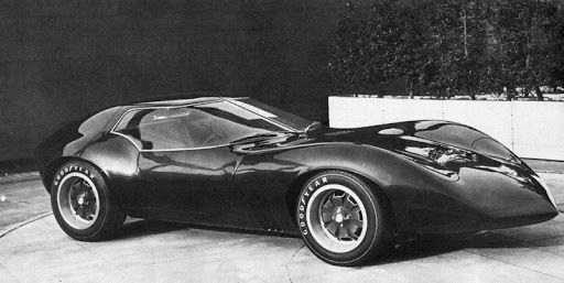 Weird Vintage Cars: Vauxhall XVR (1966)