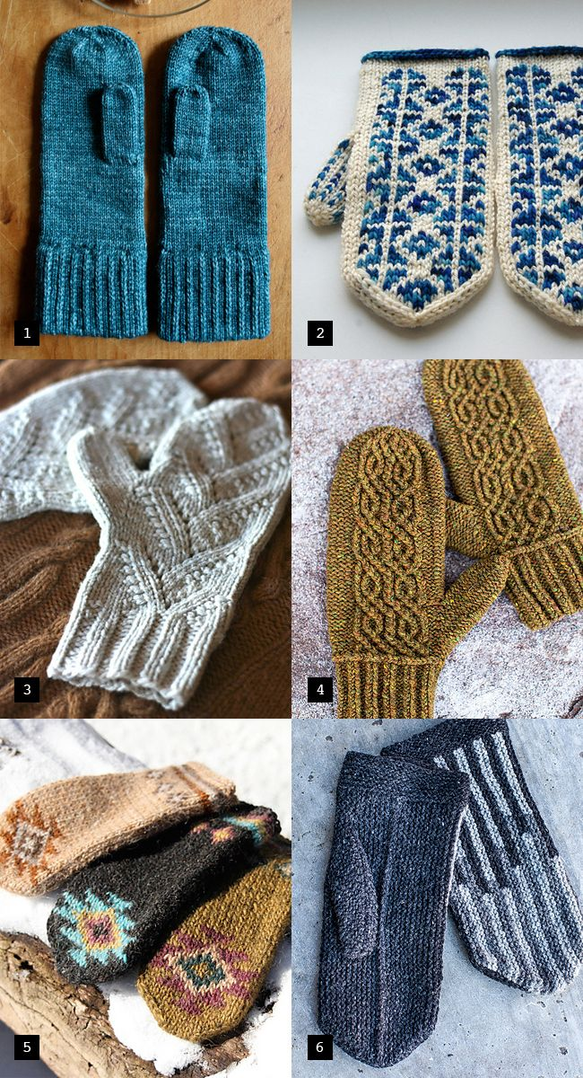 best new mittens knitting patterns - 2 are free. GREAT blog to follow if you are a knitter...