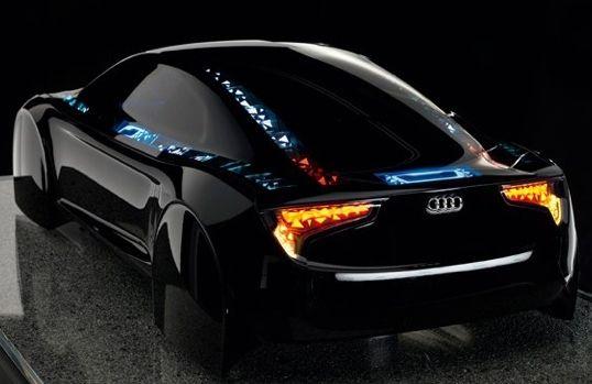 Audi OLED Tron concept car
