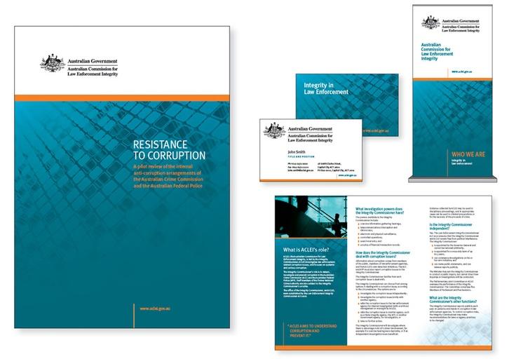 Australian Commission for Law Enforcement Integrity in Law Enforcement - Design & Branding