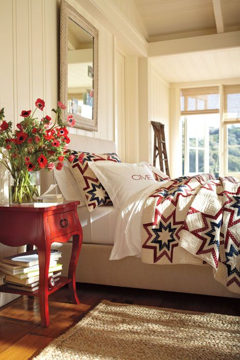 best 20 americana bedroom ideas on pinterest 15036 | e96eee91f912be5a487382c796485f34 modern country bedrooms blue quilts