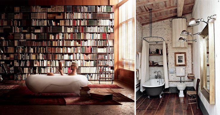In bad met je lievelingsschrijver
