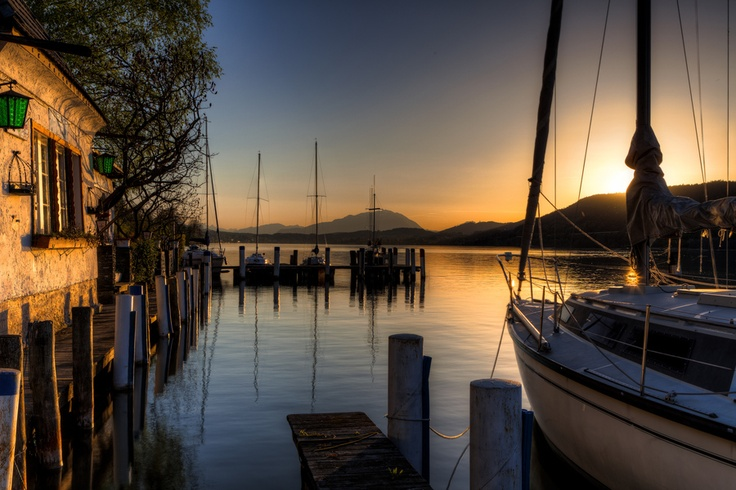 Wörthersee sunset