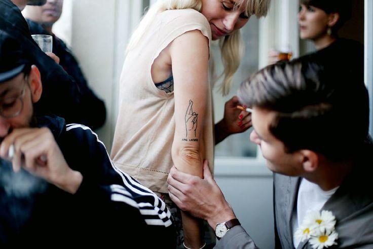 Prästkrage tatuering
