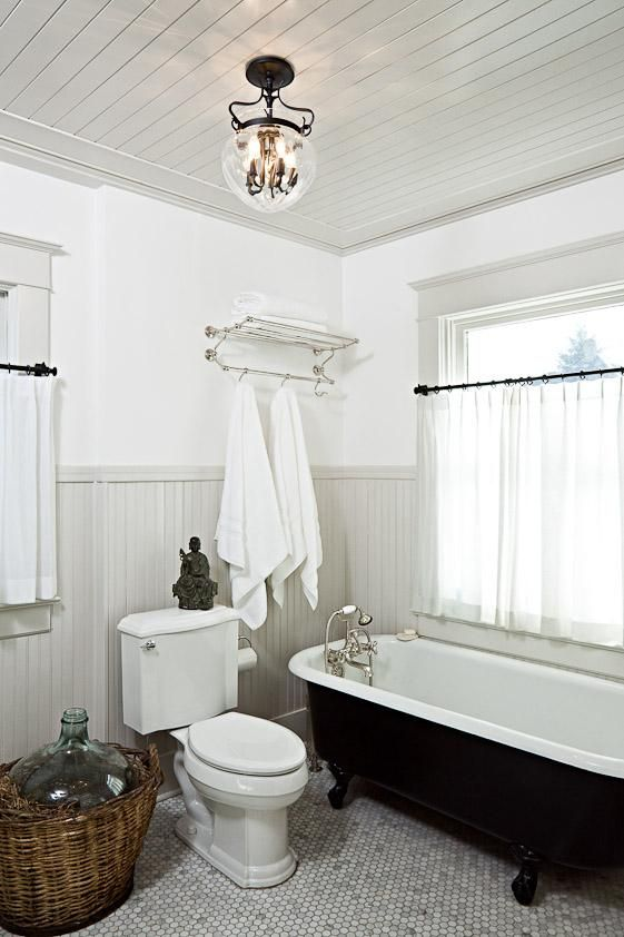 modern farmhouse bathroom by Jessica Hilgerson - purchasing details included