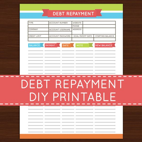 Best 25+ Debt repayment ideas on Pinterest Bullet journal - debt payoff calculator