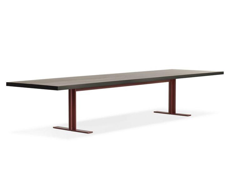 Rectangular table MEMO by Lema design Piero Lissoni