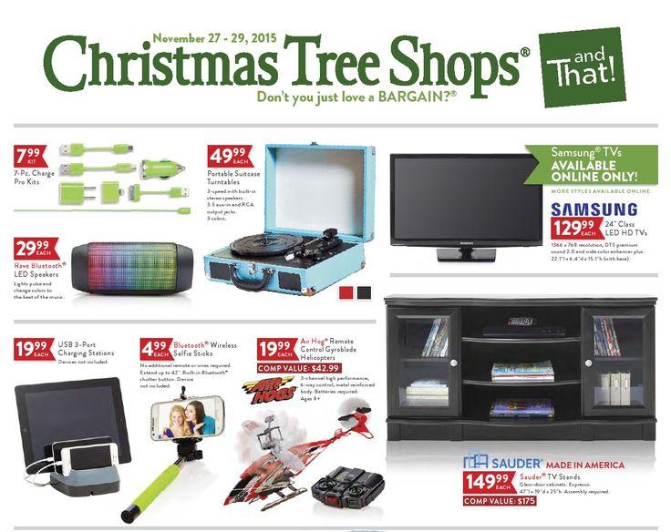 Christmas Tree Shops Ad November 27 - 29, 2015 - http://www.olcatalog.com/home-garden/christmas-tree-shops-ad.html