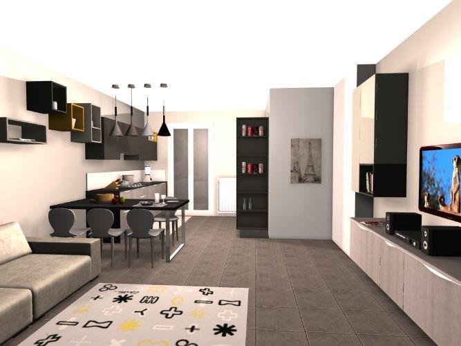 Progettazione bilocale progettazione casa funzionale, prodotti di arredamento Bassi Arredamenti