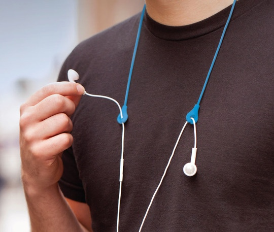 Keeps your iPod cables in place. This is almost necessary during my workout