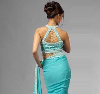 Latest Fashion: Blouse Neck Patterns - Latest Blouse Design - Indian Saree Blouse Designs
