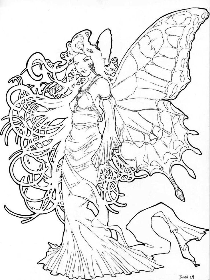 mucha fairy by azeto.deviantart.com on @deviantART