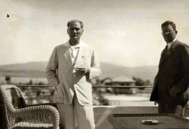Mustafa Kemal Atatürk'ün az bilinen fotoğraflarından...