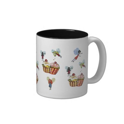 Tea-Time Fairy Fun Mug $21.95 #fairy #kitchen #mug