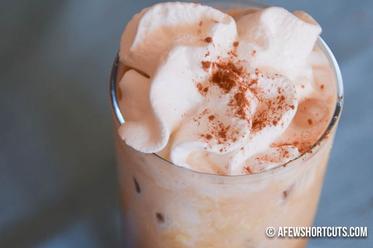 Save your dollars, and make this Copycat Starbucks Iced Cinnamon Dolce Latte Recipe at home with your Keurig! No wait or lines.