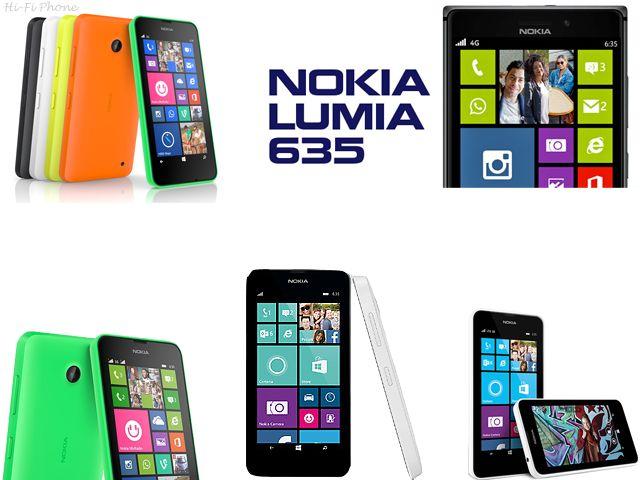 Nokia Lumia 635  hifiphone.blogspot.com