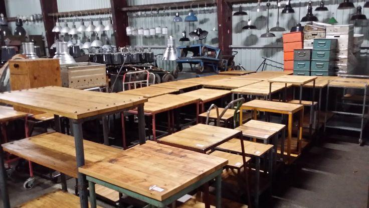 Industrial Antik - Industrial tables