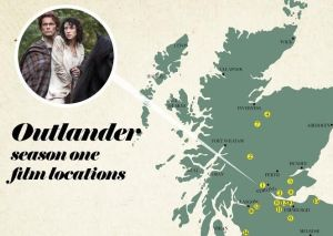 The ultimate Outlander filming location map - The Scotsman