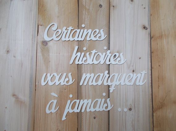 Les 25 meilleures id es concernant le tableau lettres d coratives en bois sur - Lettre decorative murale ...
