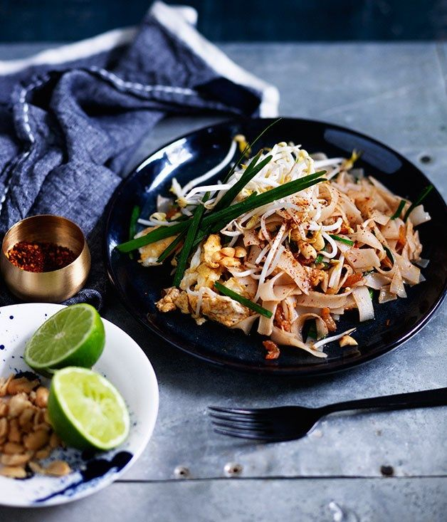 Fast pad Thai recipe :: Gourmet Traveller