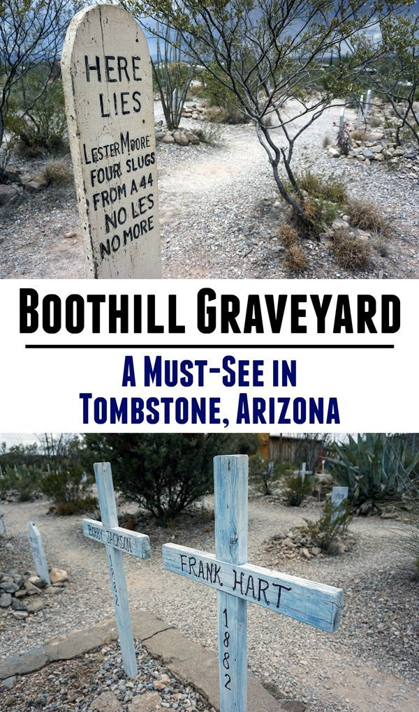 Photos from Boothill Graveyard, a must-see attraction in Tombstone, Arizona. Click to see more or pin for later!