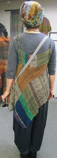 an idea for pieces of my weaving