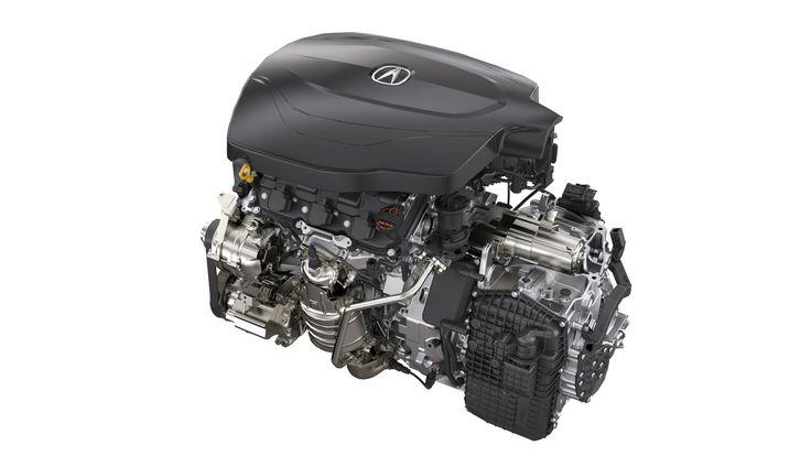 2016 TLX V6 Engine