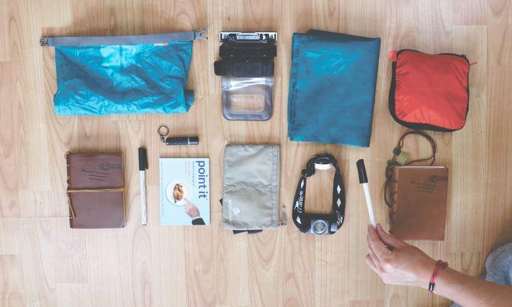Unsere Handgepäck-Packliste • Was für uns im Handgepäck wichtig ist!