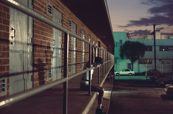"""""""Chris, 28 years old, Los Angeles, California, $30"""", 1990-92 by PHILIP-LORCA DICORCIA"""