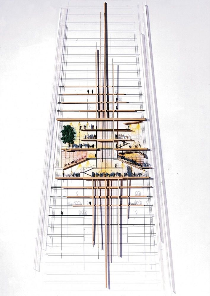 The Shard, by Renzo Piano, is a new 70-story mixed use tower that is already - even while under construction - the tallest building in London's skyline.: The Shard, Bridges Towers, Architecture Illustration, Architecture Repre, Architecture Graphics, Renzo Piano, London Bridges, Architecture Drawing, Architecture Sketches