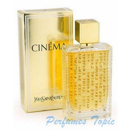 CINEMA es un perfume creado para satisfacer a la mujer desde el año 2004. Es una fragancia que pertenece a la familia oriental floral. Cabecera del perfume: clementina, ciclamen, almendro. Corazón del pefume: amarilis, peonia, jazmin. Fondo del perfume: almizcle, ambar, vainilla y benjuí.