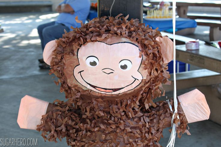 Throwing a Curious George birthday party? You'll love these Curious George birthday party ideas, include games, recipes, goody bags, and more!