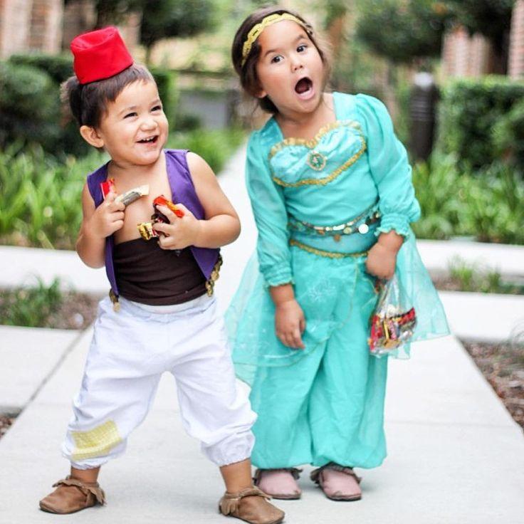 aladdin and jasmine halloween costumes - Matching Girl Halloween Costume Ideas