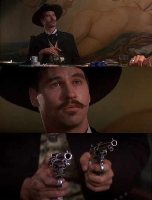 Are We Cross Guns In 2019 Doc Holliday Tombstone Movie Movies