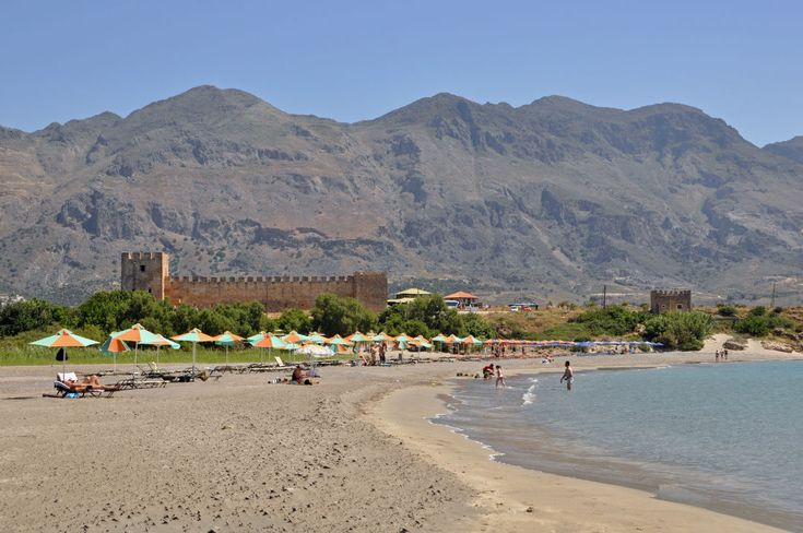 Platanias Taxi Tours: Frangokastello Beach Tour. Frangokastello is one of the most interesting spots in Chania. 80 km south east of Chania town...