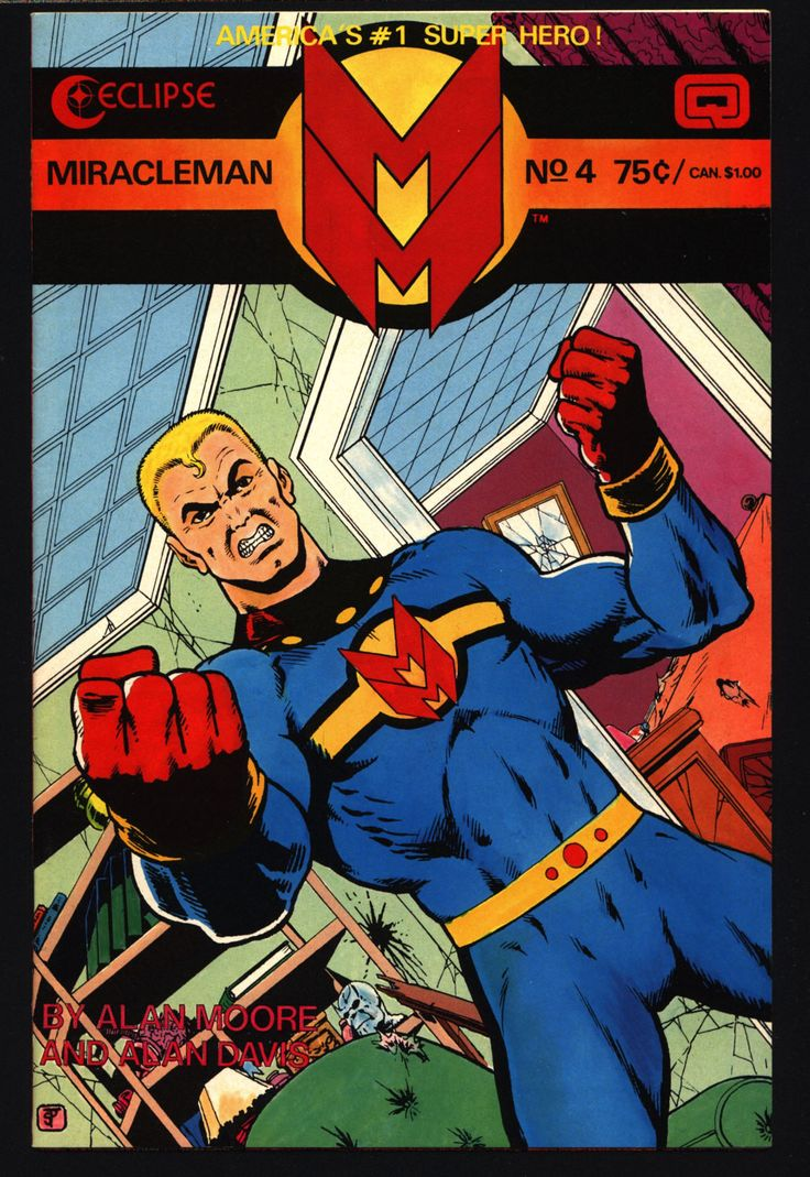 MIRACLEMAN Marvelman #4 eclipse comics 1985 ALAN MOORE Red King Syndrome Paul Gulacy Anti-Superhero Kid Family Dr. Gargunza Alan Davis