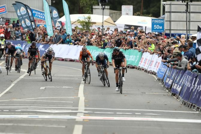 Ian Stannard wins the final stage of the Herald Sun Tour (just)